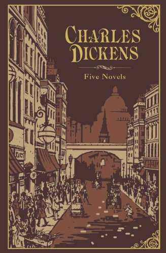 Charles Dickens: Five Novels (Leatherbound Classics) (Leatherbound Classic Collection) by Charles Dickens (2011) Leather