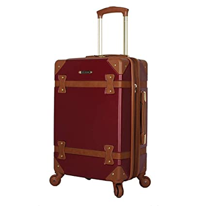 Amazon.com: XDD - Juego de maletas con ruedas, estilo retro ...