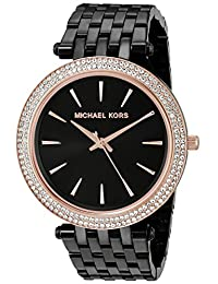 Michael Kors Women's Darci MK3407 Black Stainless-Steel Quartz Watch