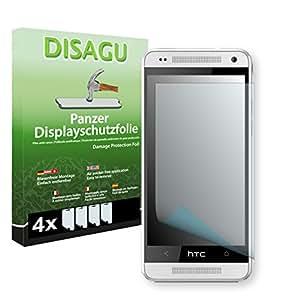 4 x DISAGU Lámina blindada para pantallas HTC M4 contra roturas