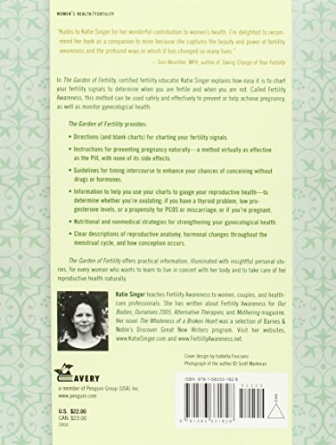 The Garden of Fertility: A Guide to Charting Your Fertility Signals to Prevent or Achieve Pregnancy--Naturally--and to Gauge Your Reproductive Health