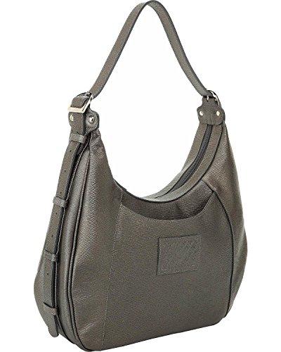 Designer Concealed Carry Women's Grey Santa Fe Hobo Bag Grey One Size by Designer Concealed Carry