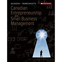 Canadian Entrepreneurship and Small Business Management
