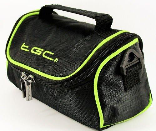 New TGC Black /& Elec Green Shoulder Case Bag for FujiFilm FinePix S2980 Camera