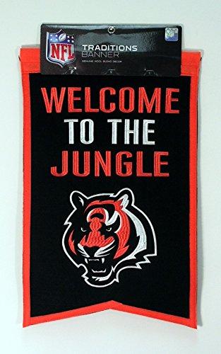 NFL Cincinnati Bengals Franchise Banner