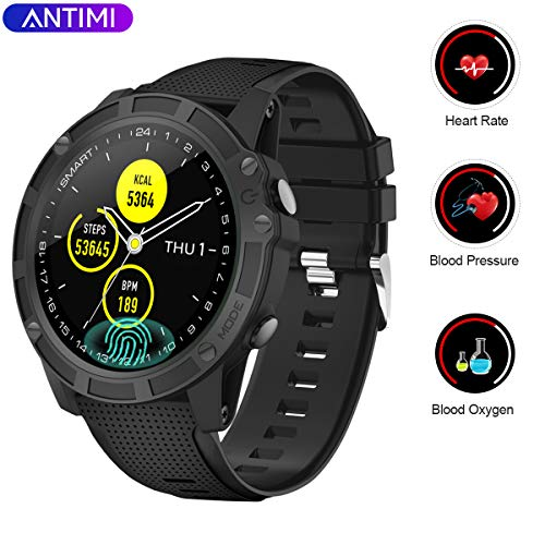 Nuevo modelo: Smartwatch Antimi, Bluetooth Smart Watch, pulsera de ...