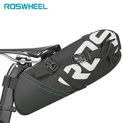 Amazon.com: ROSWHEEL – Bolsa de bicicleta accesorios cola ...
