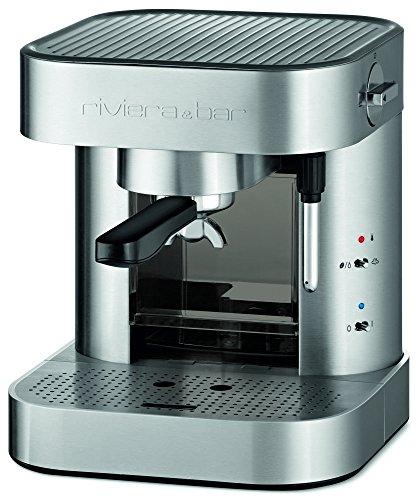 Riviera & Bar CE342A – Cafetera de espresso manual, color gris