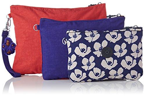 Donna L Bl Flower Kiplingiaka bold Di Wristlet Borsa Multicolore Trucco 8qwdXwzx