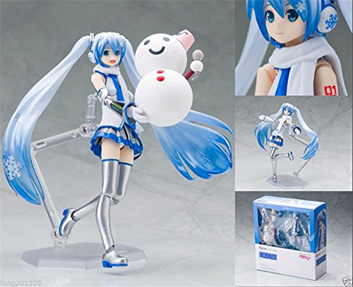 Ggtop MIKU Anime Vocaloid Snow Cute Figma Ex-016 Action Figure New in (Alice In Wonderland Costumes Party City)