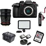 Panasonic Lumix DC-GH5s C4K High Sensitivity Digital Camera Body w/35mm T/1.5 Cine Bundle
