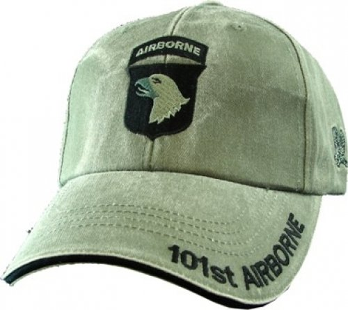 NEW-101st-Airborne-Division-Green-Low-Profile-Cap