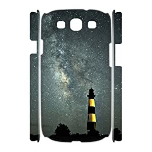 QNMLGB Hard Plastic of Lighthouse Cover Phone Case For Samsung Galaxy S3 I9300 [Pattern-2]