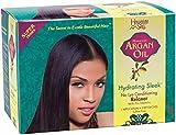 Hawaiian Silky Hydrating Sleek No Lye Relaxer Argan Oil, Super