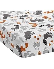 Bedtime Originals Acorn Fitted Crib Sheet