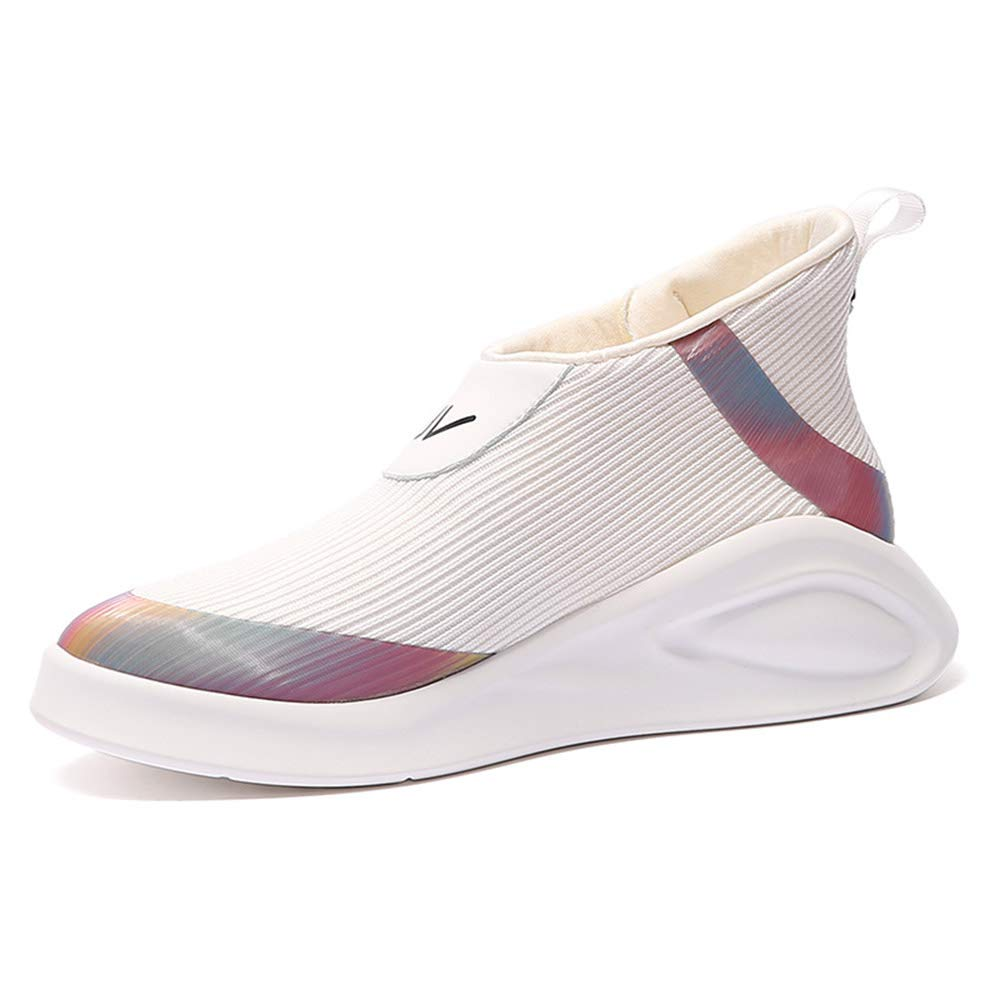 White High-Top Women's shoeswild Casual Sports Women's shoes Breathable and Deodorant Women's shoes @Y.T