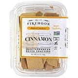 Firehook, Cinnamon Mediterranean Crackers (4 pack)