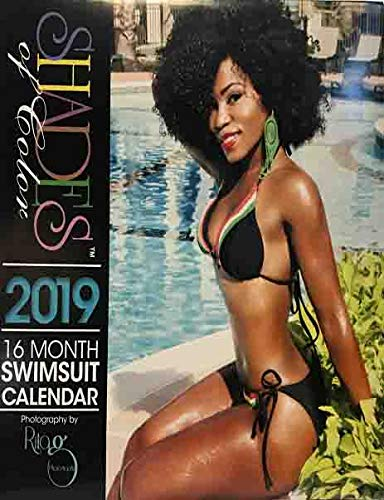Books : Shades of Color Swimsuit 2019 Calendar