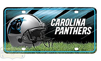 6731725a9 Amazon.com  Carolina Panthers Officially Licensed NFL Metal License ...