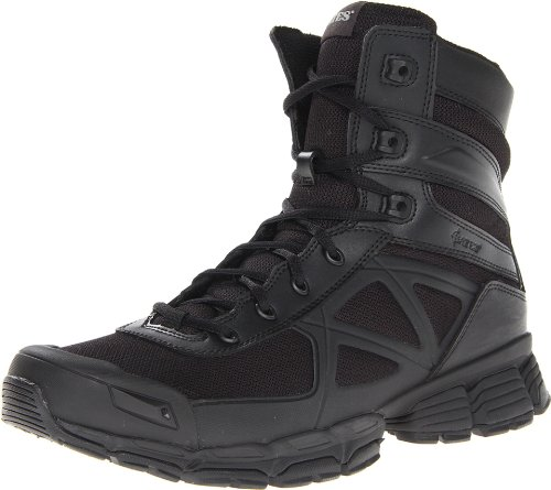 Police Boots Comfortable Snug Fit Slip Resistant Rubber Outs