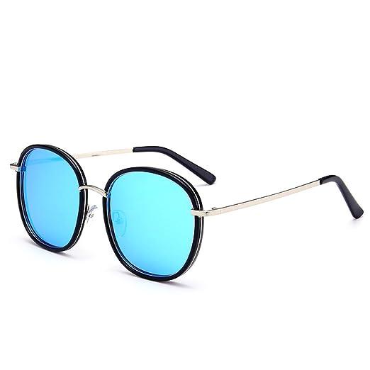 WKAIJC Mode Pop Personalisierte Bequem Anspruchsvoll Leicht Kreativ Retro Männer Und Frauen Sonnenbrillen,D