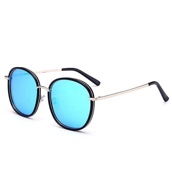 WKAIJC Mode Pop Personalisierte Bequem Leicht Lässig Anspruchsvoll Kreativ Retro Männer Und Frauen Sonnenbrillen,A