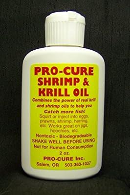 Pro-Cure Shrimp/Krill Bait Oil, 2-Ounce