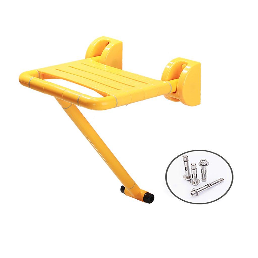 バスルームスツールフォールドウォールチェアオールドマン安全なアクセシビリティバススツールシャワースツール靴ベンチバスルーム椅子座っているスツール (色 : 1, サイズ さいず : 2) B07DV9RRXS  1 2