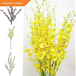 Hebel 1Pc Artificial Orchid Flower Garden DIY Party Home Wedding Hotel Decor Cal | Model ARTFCL - 249 | 8