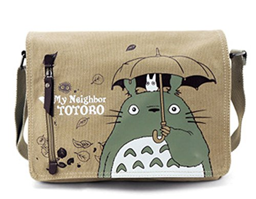 Maggift Anime Cute My Neighbor Totoro Shoulder Messenger Hand shoulders Cosplay Bag (Totoro Phone Strap)