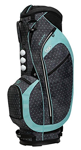 OGIO Duchess Cart Bag, Polka Dot Mint Womens Golf Cart Bag