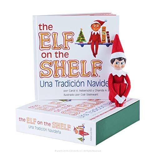 Elf on The Shelf EOTS Boy Light Spanish Doll (Letter From Elf On Shelf To Child)