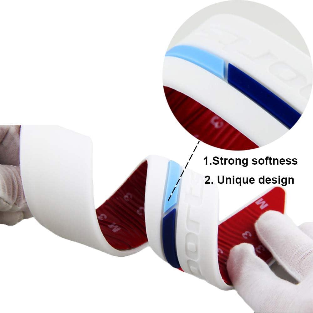 protectores de esquina Fulintech 2 protectores universales para parachoques de coche tira de goma