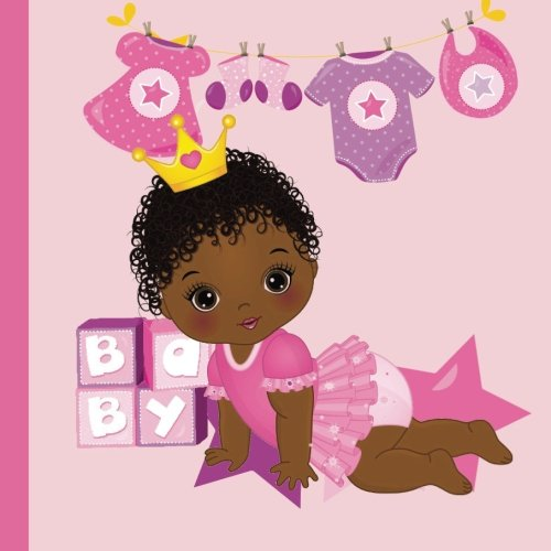 - African American Princess Baby Shower Guest Book: Beautiful African American Princess Baby Shower Guest Book + Plus Bonus Gift Tracker + Bonus Baby ... Girl Baby Shower Decorations) (Volume 1)