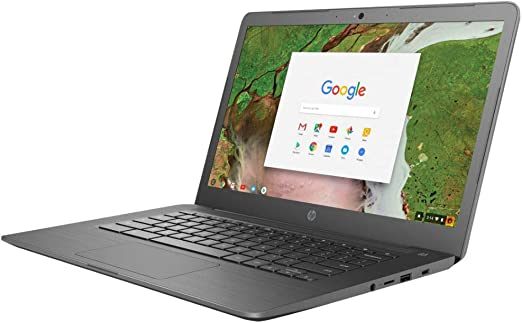 "Amazon.com: 2018 HP 14 Chromebook 14"" HD Touchscreen Widescreen ..."