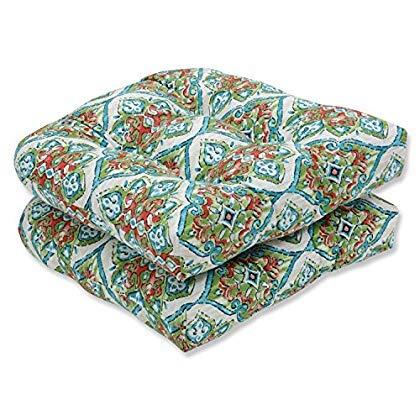 Pillow Perfect Splendor Opal Wicker Seat Cushion (Set of 2) [並行輸入品]   B07QZMLK89