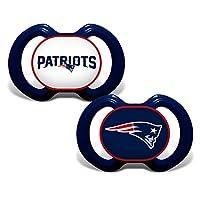 NFL New England Patriots 2 Bibs & 1 Burp Cloth Set, One Size, White