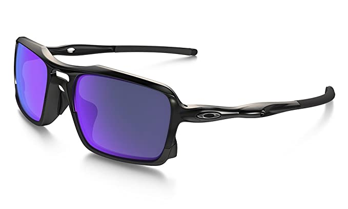 a112172a7e4 Oakley Men s (a) Triggerman OO9314-04 Non-Polarized Iridium Rectangular  Sunglasses