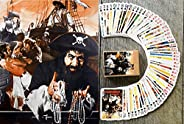 FlonzGift Pirates Playing Cards (Poker Deck 54 Cards All Different) Vintage Action Pirates Corsairs Movie Post