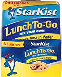 StarKist Lunch to Go Tuna Albacore, 4.1 Ounce (Pack of 6)
