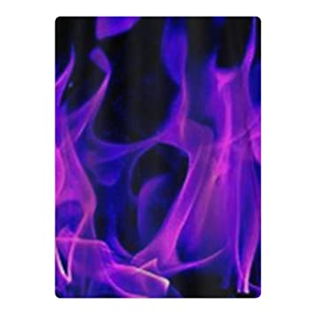 POIPT Purple Fire Flame Wallpaper Personality Teenagers Beach Bath Towel