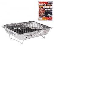 Barbacoa de mesa desechable de carbón – barbacoa con carbón desechable – Mini barbacoa de mesa