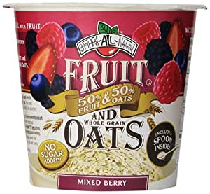 Brothers-ALL-Natural Fruit and Oats, Mixed Berry, 1.16 Ounce (Pack of 6)