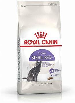 ROYAL CANIN Alimento para Gatos Sterilised 37-2 kg: Amazon.es ...