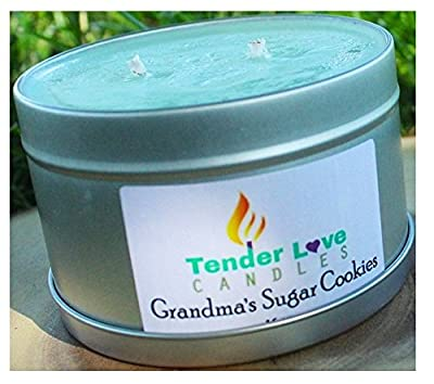 Scented Candles Soy Wax Aromatherapy Candles 16 ounce tinplate