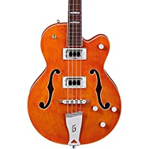Gretsch G5440LS Electromatic Hollow Body Long Scale Bass Guitar - Orange