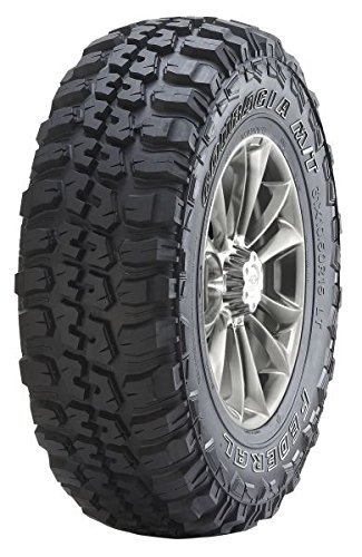 Federal Couragia M/T Mud-Terrain Radial Tire - LT235/75R15 - In 15 Tires Mud