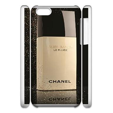 best loved f718c 8b1b5 iphone 5C 3D Phone Case White CHANEL F6718800: Amazon.co.uk: Electronics