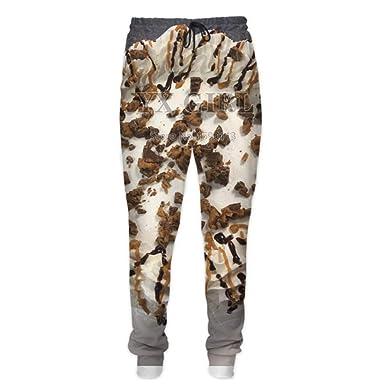 Fsanly - Pantalones de chándal para Hombre y Mujer, diseño de ...
