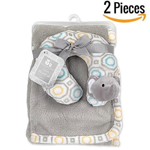 "Baby Blanket + Plush Toy Or Neck Pillow 30"" X 40""— Swa"